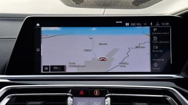 BMW X5 infotainment