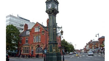 Chamberlain clock roundabout, Birmingham