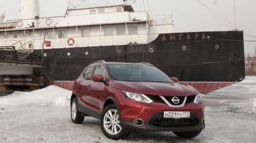 Nissan Qashqai in Russia - header