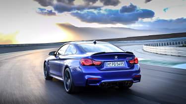 BMW M4 CS - rear action