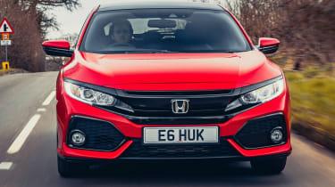 Honda Civic diesel automatic hatch front