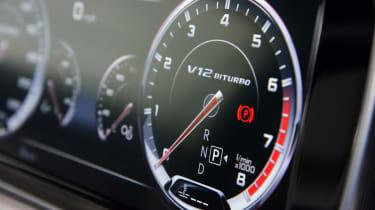 Mercedes S65 AMG dials