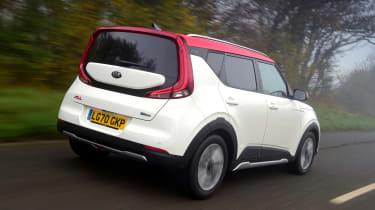Kia Soul EV - rear