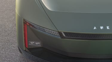 Aura concept car - front
