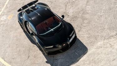 Bugatti Chiron - above