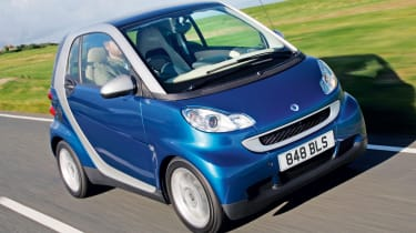 Smart ForTwo front tracking