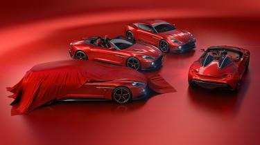 Aston Martin Vanquish Zagato Speedster - family