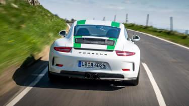Porsche 911 R - full rear