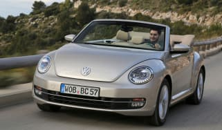 VW Beetle Cabriolet 1.4 TSI front tracking
