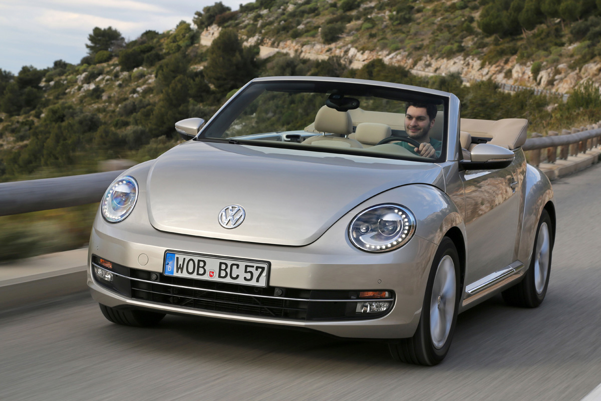 Vw Beetle Cabriolet 1 4 Tsi Review Auto Express