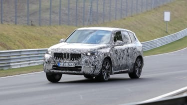 New BMW X1 - front