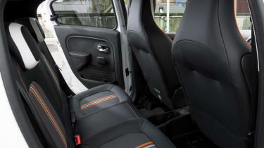 Used Renault Twingo - rear seats