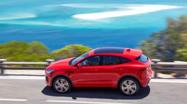 Jaguar E-Pace - side
