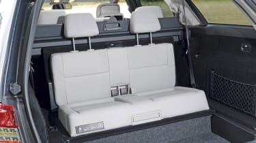 Mercedes E350 CDI Estate rear seats
