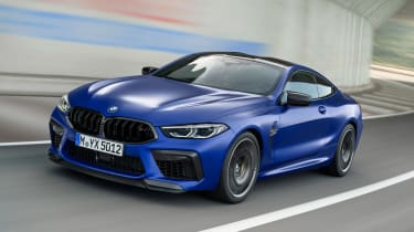 BMW M8 Competition - front