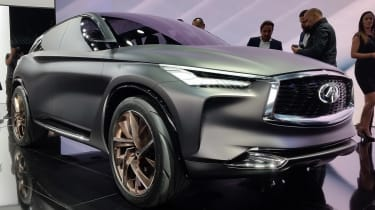 Infiniti QX Sport Inspiration - Paris front three quarter