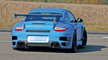 Techart Porsche 911 GTStreet RS rear cornering