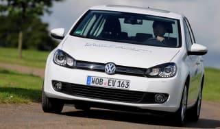 VW Golf Blue-e-motion front