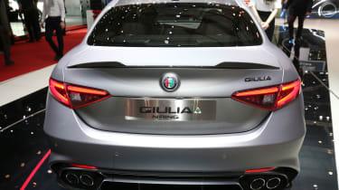 Alfa Romeo Giulia NRING - Geneva full rear