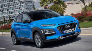 Hyundai Kona hybrid - front