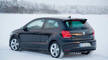 Volkswagen Polo R black back