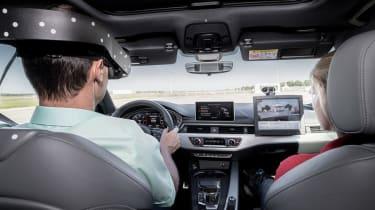 Audi Virtual Training Car front facing
