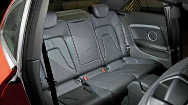 Audi A5 2.0 TFSI Coupe rear seats