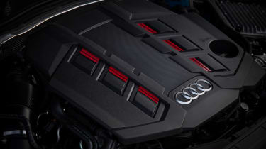 2019 Audi S4 saloon engine
