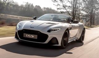Aston Martin DBS Superleggera Volante - front