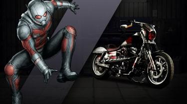 Harley Davidson Marvel Super Hero Customs - Ant Man No-Nonsense
