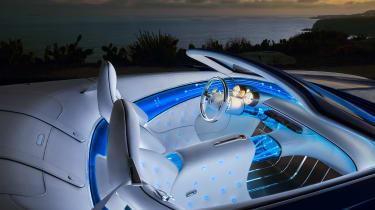 Vision Mercedes-Maybach 6 Cabriolet - interior night