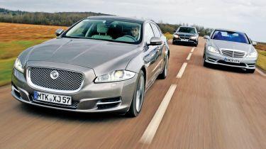 New Jaguar XJ vs. rivals