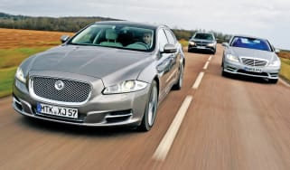 New Jaguar XJ vs. rivals