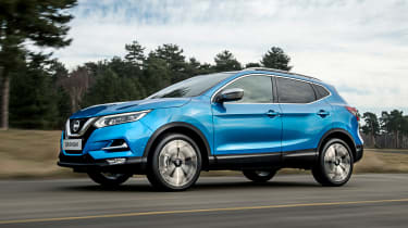 New Nissan Qashqai facelift - front action