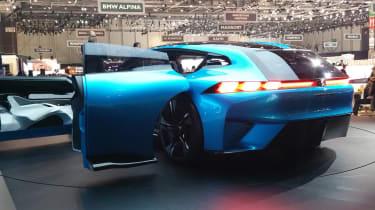 Peugeot Instinct concept Geneva - doors open rear