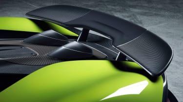 McLaren 600LT Spider - rear wing