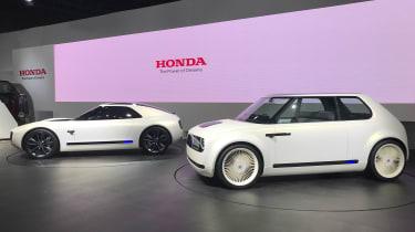 Honda Sports EV concept and Honda EV concept - side
