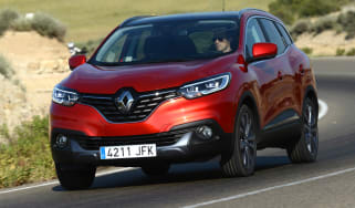 New Renault Kadjar 2015 action