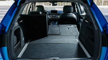 Audi S4 Avant 2016 - boot seats down