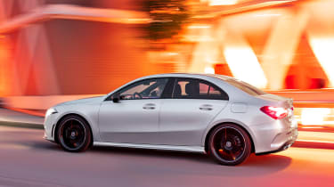 Mercedes A-Class Saloon - side tracking