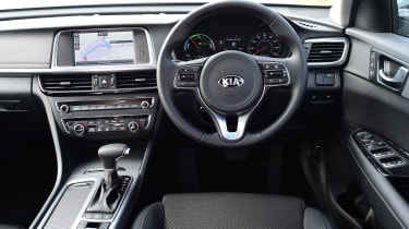 Kia Optima PHEV - interior