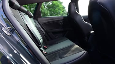 SEAT Leon Cupra R ST ABT - rear seats