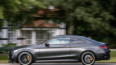 Mercedes-AMG C 63 S Coupe - side