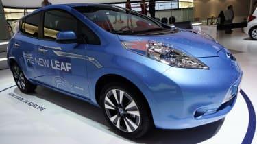 2013 Nissan Leaf front