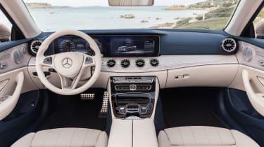 Mercedes E-Class Cabriolet 2017 - AMG Line interior