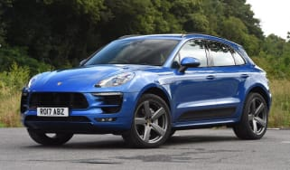 Used Porsche Macan - front