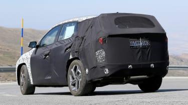 Hyundai Tucson spy - rear
