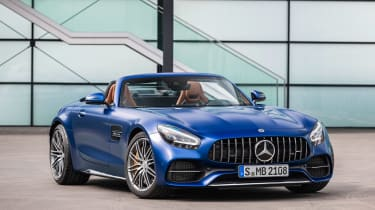 Mercedes-AMG GT C - front static
