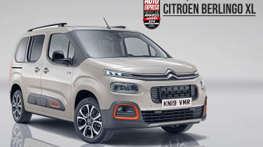 Citroen Berlingo XL - 2019 MPV of the Year