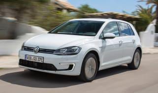 Volkswagen e-Golf - front